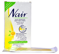 Nair Hair Removers Body Wax Strips with Lemon