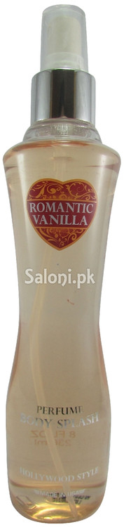Hollywood Style Romantic Vanilla Perfume Body Splash