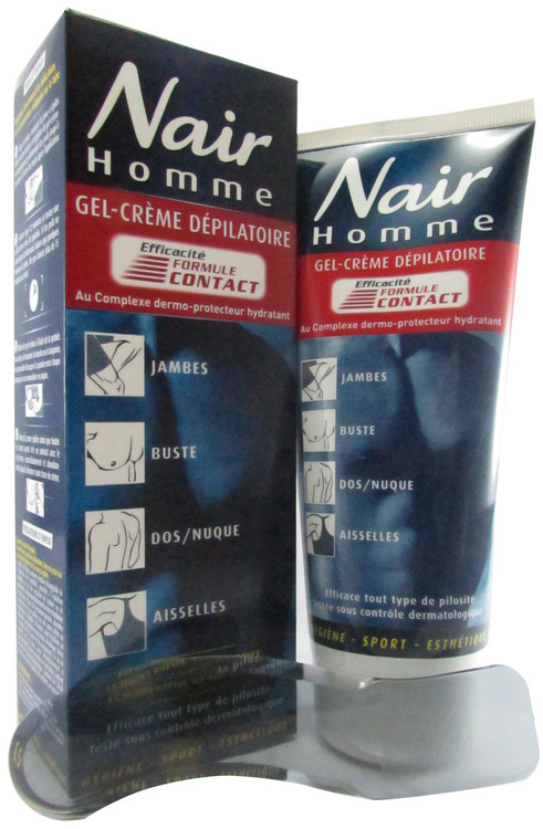 Nair Men Hommes Hair Remover Cream Front