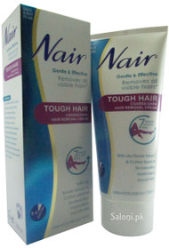 Nair Tough Hair Removal Cream Front