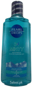 Pearl Drops Smokers 3 in 1 Minty Mouthwash Front