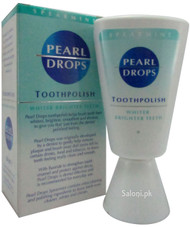 Pearl Drops Toothpolish Spearmint Front