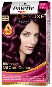Scharzkopf Palette Deluxe Intensive Oil Care Color Attractive Aubergine