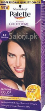 Schwarzkopf Palette Intensive Colour Cream Medium Brown 4-0