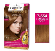 Schwarzkopf Palette Deluxe Intensive Oil Care Color Luminous Gold 7-554