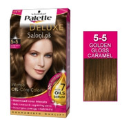 Schwarzkopf Palette Deluxe Intensive Oil Care Color Golden Gloss Caramel 5-5
