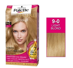 Schwarzkopf Palette Deluxe Intensive Oil Care Color Light Blond 9-0