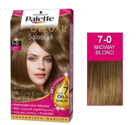 Schwarzkopf Palette Deluxe Intensive Oil Care Color Midway Blond 7-0