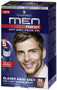 Schwarzkopf Men Perfect Anti-Grey Color Gel Natural Dark Brown 70