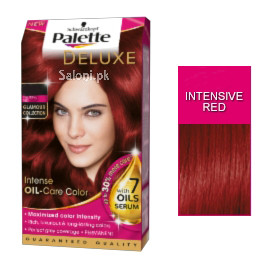 Schwarzkopf Palette Deluxe Intensive Oil Care Color Intensive Red