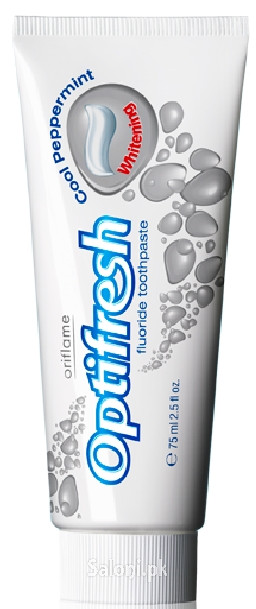 Oriflame Optifresh Fluoride Toothpaste Whitening
