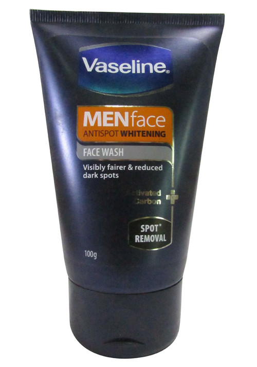 Vaseline Menface Antispot Whitening Face Wash Spot Removal 100 Grams
