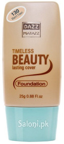 Dazz Matazz Timeless Beauty Lasting Cover Foundation 130 Warm Fawn