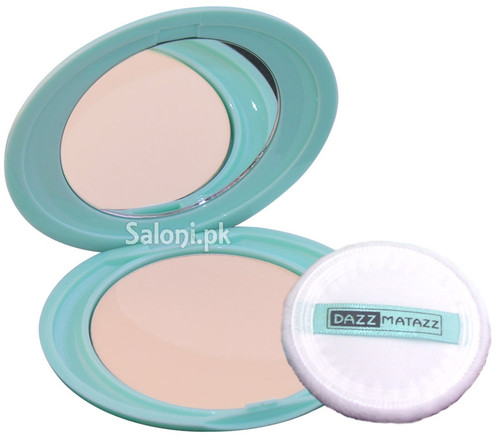 Dazz Matazz Silk Finish Compact Powder 03 Ivory Light