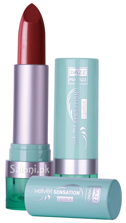 Dazz Matazz Velvet Sensation Lipstick 06 English Toffee Front