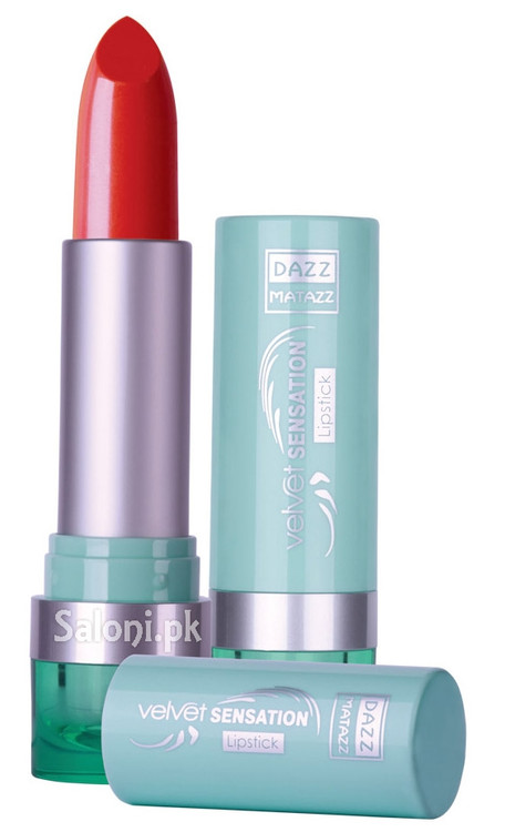 Dazz Matazz Velvet Sensation Lipstick 26 Cherry Cheese Pie Front