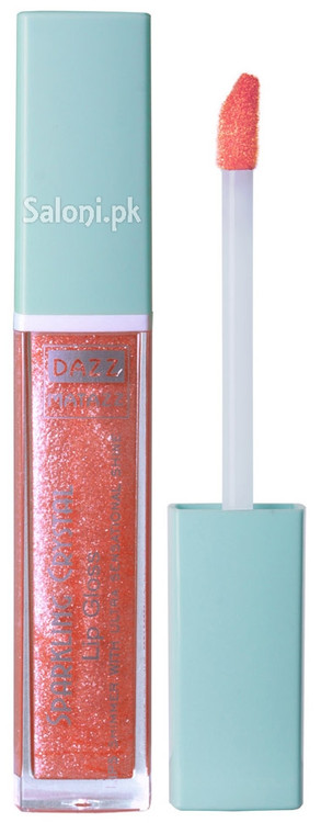 Dazz Matazz Sparkling Crystal Lip Gloss 08 Coral Front