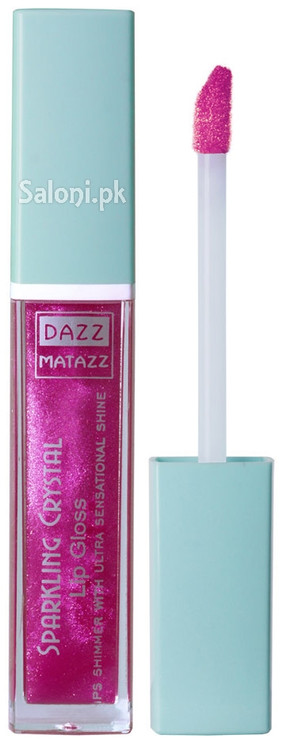 Dazz Matazz Sparkling Crystal Lip Gloss 18 Lily Front