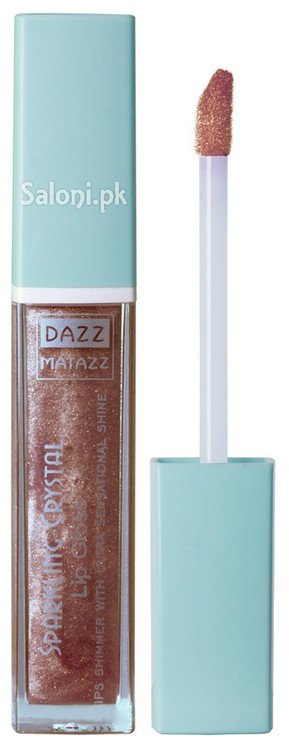Dazz Matazz Sparkling Crystal Lip Gloss 24 Aster Front