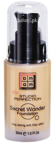Dmgm Studio Perfection Secret Wonder Foundation Custard 250 Front