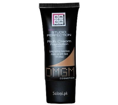 Dmgm Studio Perfection Rich Cream Foundation Sepia Beige 446 Front