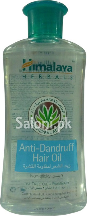 Himalaya Herbal Anti-Dandruff Hair Oil (Front)