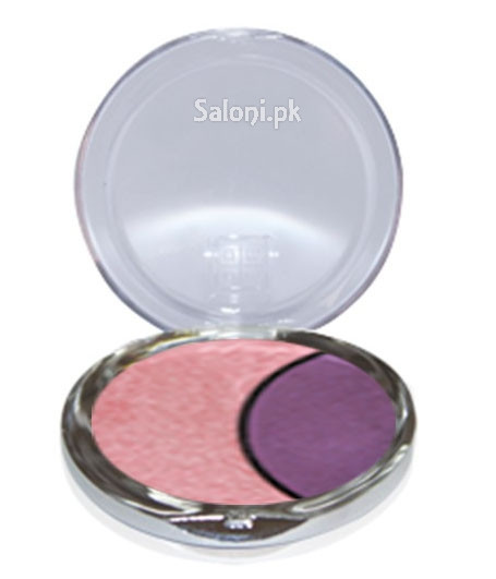 Dmgm Studio Perfection Duo Eye Shadow Pink Orchid / Violet Craze 37 Front