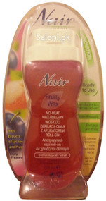 Nair Fruity Wax No-Heat Wax Roll-On Front