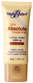 Diana Of London Absolute Balance Long Stay Make-up Foundation 307 Warm Tan Front