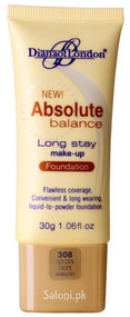 Diana Of London Absolute Balance Long Stay Make-up Foundation 308 Golden Taupe Front
