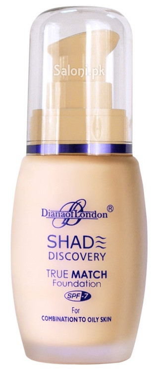 Diana Of London Shade Discovery Foundation 106 Natural Ivory Front