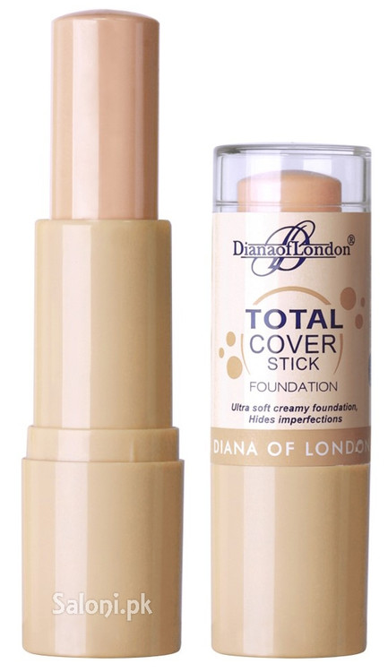 Diana Of London Total Cover Stick Foundation 501 Rose