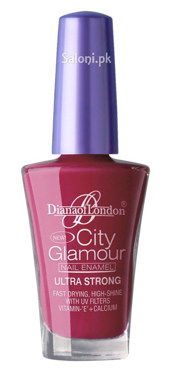 Diana City Glamour Nail Polish Pink Candy 07