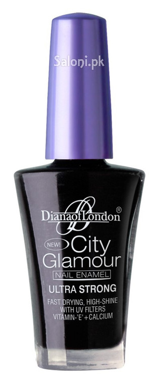 Diana City Glamour Nail Polish Stary Night 26