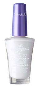 Diana City Glamour Nail Polish White Stone 27