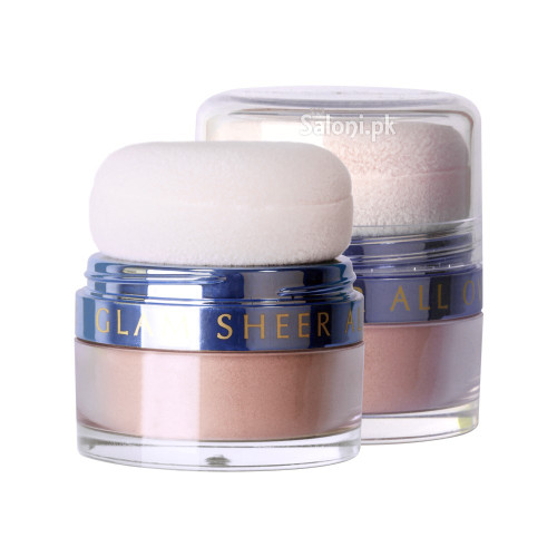 Diana Glam Sheer All Over Loose Powder 02 Silver Sheer Front