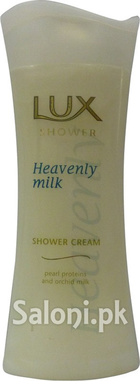 Lux Heavenly Milk Shower Cream (Front)