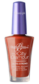 Diana City Glamour Nail Polish Orange Fusion 42