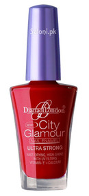 Diana City Glamour Nail Polish Sensual Red 50
