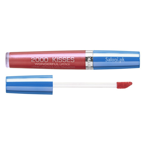Diana 2000 Kisses Wonderful Lipstick 35 Crimson Red Front