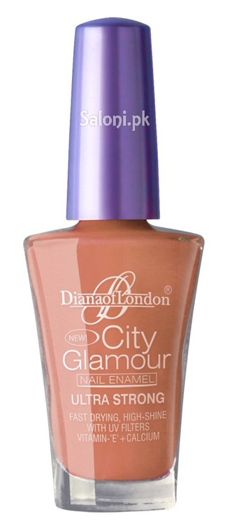Diana City Glamour Nail Polish Holly Hock 86