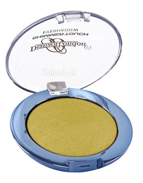 Diana Shimmer Touch Eye Shadow 03 Yellow Shimmer Front