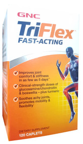 GNC TriFlex Fast Acting Joint Health 120 Caplets buy online in pakistan
