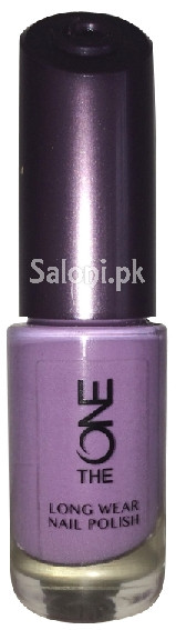 Oriflame The One Long Wear Nail Polish Lilac Silk Front