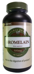 GNC Natural Brand Bromelain 500mg 60 Tablets buy online product in pakistan