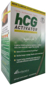 GNC Bio Genetic Laboratories HCG Activator Front