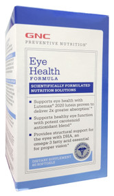 GNC Preventive Nutrition Eye Health Formula 60 Softgels Buy online in Pakistan