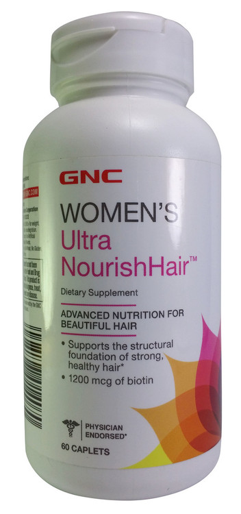 GNC Women's Ultra Nourish Hair Front buy online product in pakistan