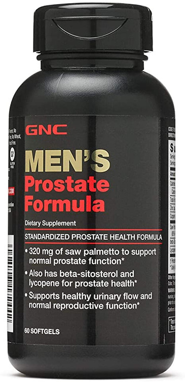 GNC Men's Prostate Formula 60 Softgels