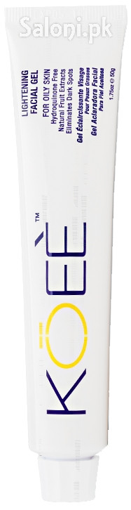Koee Lightening Facial Gel For Oily Skin